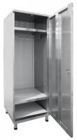 Шкаф для одежды ШРО-6-0 (нерж.)