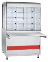 Прилавок-витрина тепловой ПВТ-70КМ
