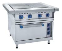 Плита электрическая 4-х конфорочная Abat ЭП-4ЖШ-Э эмалированная духовка, лицевая нерж.