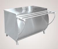 Прилавок для горячих напитков ПГН-70М (нейтральный стол, 1120 мм.)