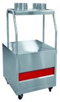 Прилавок для столовых приборов ПСП-70ПМ  /вся нерж./