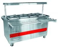 Прилавок холодильный ПВВ(Н)-70ПМ-01-НШ, вся нерж.