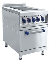 Плита электрическая 2-конфорочная Abat ЭП-2-ЖШ с жарочным шкафом